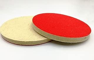 412 Dischi abrasivi 180/mm 17,8/cm qualit/à Mirka Plain Hook /& Loop Sandpaper Pads 10/pz Grana P60