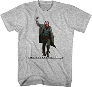 Breakfast Club 1985 Comedy Drama Movie John Bender Victory Grey Adult T-Shirt