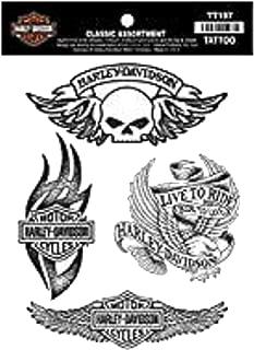 Best harley davidson skull tattoos Reviews