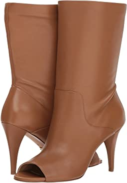 59948aef417 Acorn Soft Distressed Leather. 90. MICHAEL Michael Kors. Elaine Open Toe  Bootie