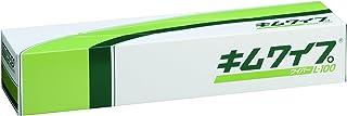 【ケース販売】 クレシア キムワイプ L-100 100枚/ボックス ×18ボックス入 シートサイズ 470mm×425mm キムワイプシリーズのなかで最も大きなビッグサイズ 多量の薬品の拭き取りに 大きな実験器具や部品の拭き取りに 62001