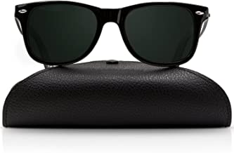 Wayfarer Polarized Sunglasses for Men and Women | UV400 Protection Factor Lenses with Maintenance Set by REVOLUTTI