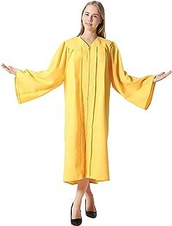 Unisex Adults Matte Choir Robes