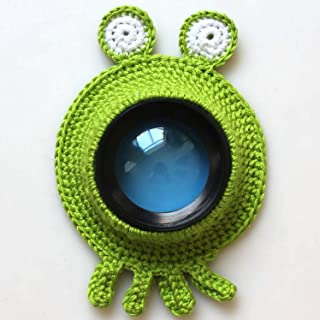 GaitserBY Characteristic Animal Camera Buddies Lens Accessory for Child\/Kid\/Pet Photography Knitted Lion Octopus Teaser Toy Lens Posing Photo Props for Home Decoration(None 5号)