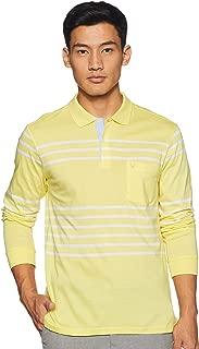 Allen Solly Men's Striped Regular fit Polo