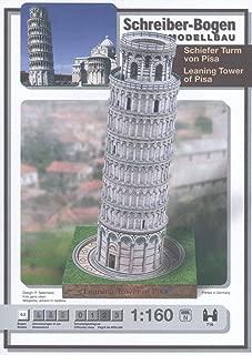 Aue Verlag 20x 20x 37cm Kit de Modelo Torre Inclinada de Pisa