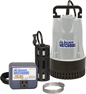 Basement Watchdog BW1050 Sump Pump, 4400 Gallon Per Hour