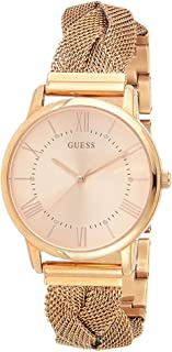 Guess Women's Analogue Quartz Watch with Stainless Steel Strap W1143L3