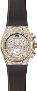TM-118109 Cruise Pave Unisex 45mm Rose Gold Watch