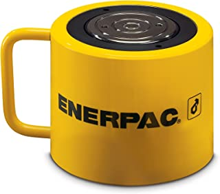 Enerpac RCS-1002 Single-Acting Low-Height Hydraulic Cylinder with 100 Ton Capacity, Single Port, 2.25