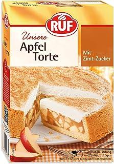 RUF Apfeltorte mit Zimt Zucker und Sahnecreme, 8er Pack 8 x 500 g Packung