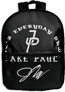 Kids Backpack, Jake Paul Logo School Backpack For Girls Travel Bag Bookbag Satchel Bag Black