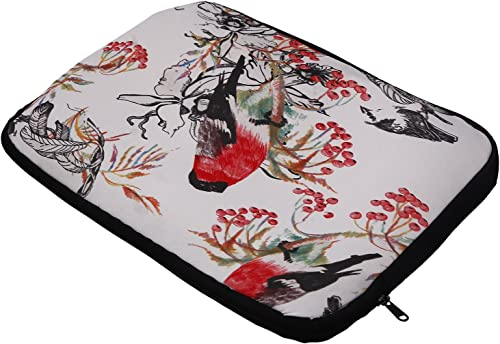 Nostaljia Multicolor Fabric 15 6 Inch Laptop Sleeve Nls32