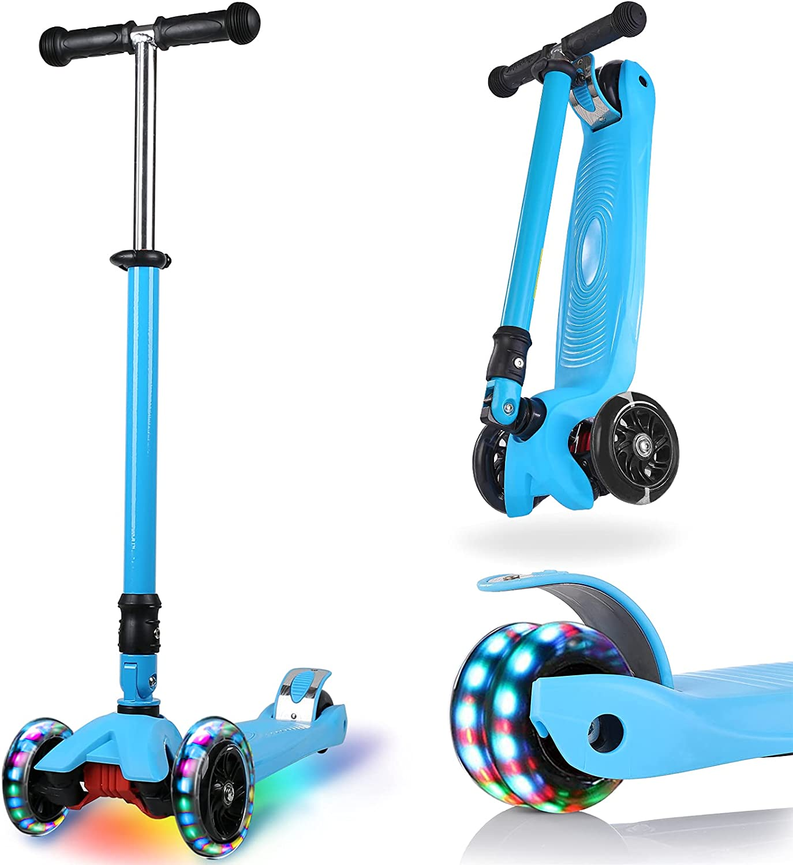 IMMEK Kick Scooter for Kids 3 Old Ages Overseas parallel import regular item Years Award-winning store 3-12 Folding Wheels