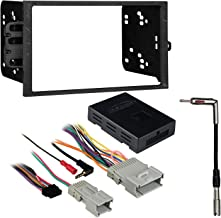 Metra 95-2001 2-DIN Dash Kit + OnStar Amplified Interface for Select 2000-09 GM