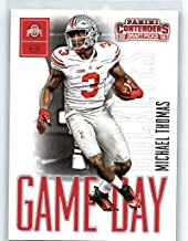 2016 Contenders Draft Picks Game Day Tickets Football #6 Michael Thomas Ohio State Buckeyes Official NCAA Rookie Card made by Panini