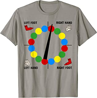 Twister Game Shirt Family Group Playing Twister Game T-Shirt