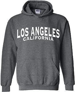 Los Angeles California White Unisex Hoodie Sweatshirts