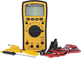 IDEAL INDUSTRIES INC. 61-340 Test-Pro Digital Multi-Meter with Temp, Cap, Hz, Backlight, CATIII for 600v