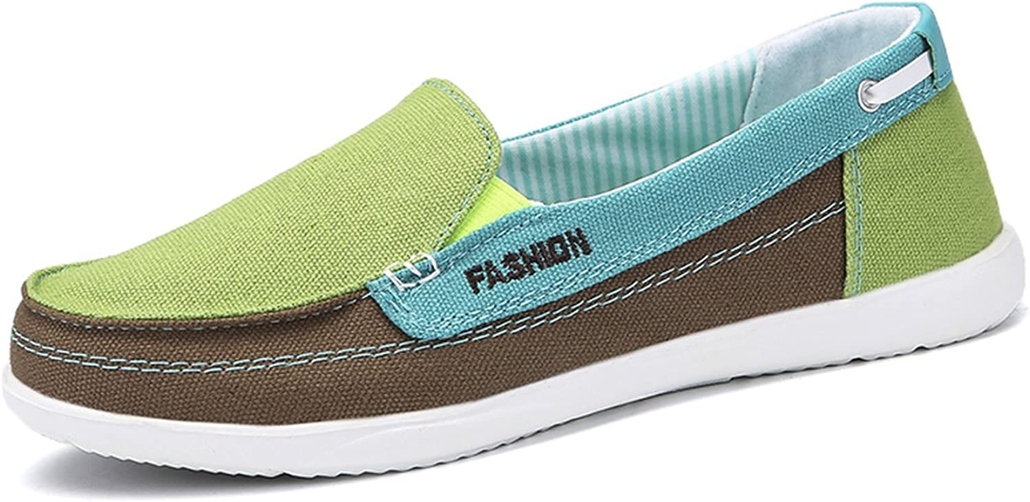 Don't mention the past Women Canvas shoes Woman Ladies Casual shoes Lady Loafers Women's Flats Slip On shoes