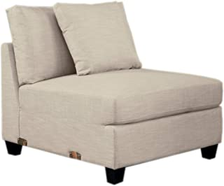 Homelegance Southgate Modular Sectional Unit, Armless Chair, Beige