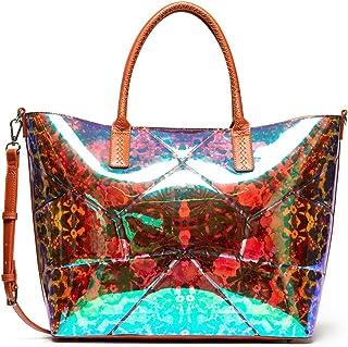 Desigual Bols_kaleidoscope Women's Holbox Handbag, Green (Kiwi), 17 x 30.5 x 37 cm