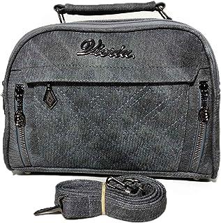 فيكريا حقيبة للنساء-رصاصي - حقائب طويلة تمر بالجسم