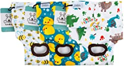 CuteBone Dog Diapers Female Puppy Pants Washable for Untrained Puppies, Dogs in Heat, Doggie Menstrual and Incontinence