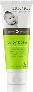 Wotnot Natural and Organic Baby Balm 100 ml, 3.38 fl.oz