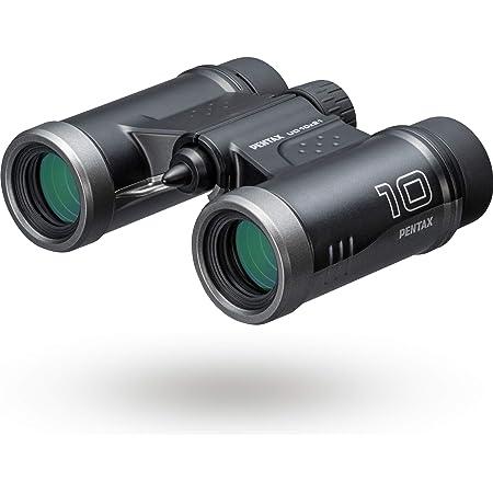 PENTAX 双眼鏡 UD 10x21 ブラック 倍率10倍 明るく見やすい視界を確保, 持ち運びしやすいダハプリズムの小型ボディ マルチコーティング採用でフレアやゴーストを抑えた良好な像性能を実現, 三脚対応, コンサート スポーツ観戦 旅行 メーカー保証1年 ペンタックス 61816