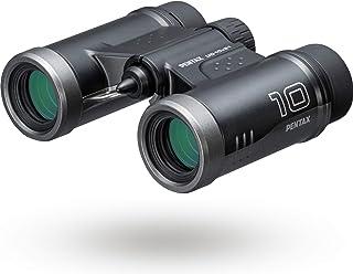 PENTAX 双眼鏡 UD 10x21 ブラック 倍率10倍 明るく見やすい視界を確保, 持ち運びしやすいダハプリズムの小型ボディ マルチコーティング採用でフレアやゴーストを抑えた良好な像性能を実現, 三脚対応, コンサート スポーツ観戦 旅行...