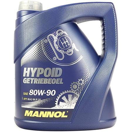 Mannol Hypoid Getriebeoel 80w 90 Api Gl 4 Gl 5 Ls 4 Liter Auto