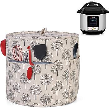 Yarwo Funda para Ollas a presión Eléctrica de 5,7 L, Cubierta para Instant Pot de 5,7 L, Árbol: Amazon.es: Hogar