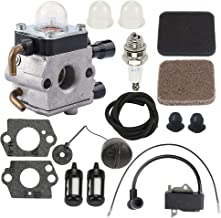 ATVATP FS75 Carburetor for STIHL FS80 FS80R FS85 FS85R FS85T FS85RX String Trimmer 4137-120-0606 4137-120-0608 C1Q-S97 C1Q-S143 C1Q-S153 C1Q-S186 & 4137 400 1350 Ignition Coil