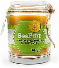 BreatheFresh BeePure Smoke-free Cotton Wick Natural Beeswax Candle (300 g)