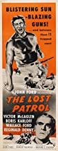 The Lost Patrol POSTER Movie (14 x 36 Inches - 36cm x 92cm) (1934) (Insert Style A)