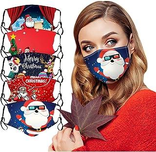 Unisex Mundschutz Waschbar Motiv Weihnachten Totenkopf Grinch Mund und Nasenschutz Multifunktionstuch Lustig Widerverwendbar Motorrad Staubschutz Halstuch Bandana f/ür Herren Damen