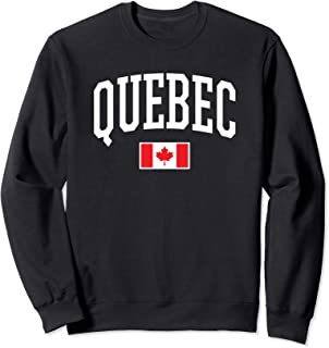 Eh Team Canadian Flag Quebec Canada Sweatshirt