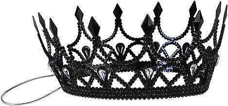 Forum Novelties Inc - Black Queen Crown