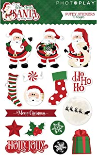 Here Comes Santa - Puffy Stickers - PhotoPlay