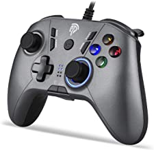 EasySMX Gaming Controllers, PC Gamepad PCJoysticks, Wired Controller instelbare led met vibratie feedback, Turbo, vier pro...