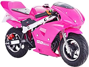 Superrio New Gas Mini Pocket Bike Motorcycle 40cc 4-Stroke Engine