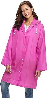 EVA Raincoat Waterproof Rain Poncho Rain Jacket Women Long Rain Cape