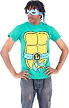 Teenage Mutant Ninja Turtles Men's T-shirt with Eye Mask