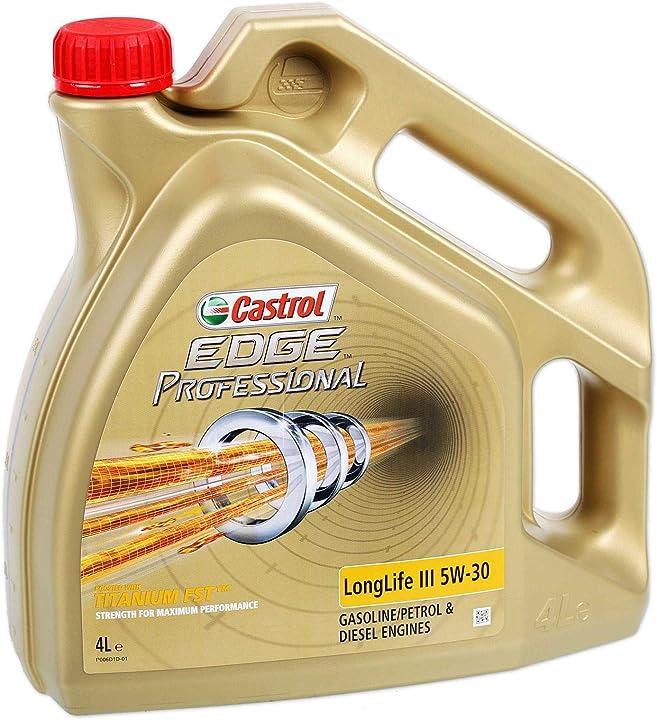 Olio motore castrol edge professional longlife iii 4 litri  5w30 157EA4