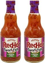 Frank's RedHot Sweet Chili Sauce, 12oz (Pack of 2, Total of 24 Oz)
