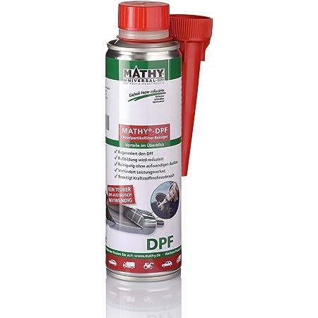 Mathy Dpf Dieselpartikelfilter Reiniger 300 Ml Diesel Additiv Dpf Reiniger Partikelfilter Reiniger Einfache Anwendung über Den Tank Kraftstoffadditiv Auto