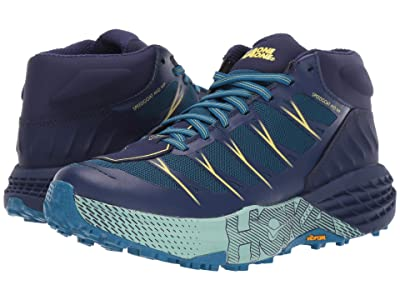 Hoka One One Speedgoat Mid WP (Seaport/Medieval Blue) Women