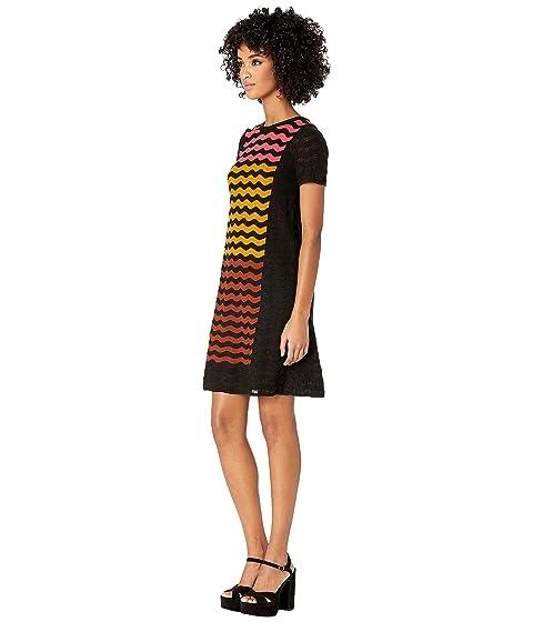 30b8d85c49 M Missoni Ripple Intarsia Short Sleeve Dress at Luxury.Zappos.com