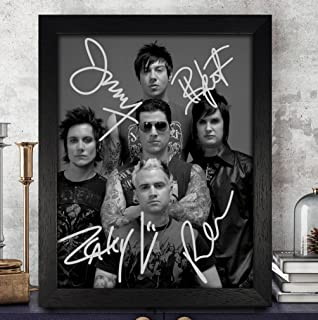 Avenged Sevenfold Nightmare Cast Autographed Signed 8x10 Photo Reprint #56 Special Unique Gifts Ideas Him Her Best Friends Birthday Christmas Xmas Valentines Anniversary Fathers Mothers Day